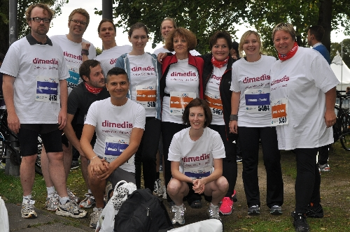 dimedis-Crew beim HRS BusinessRun: Software, die läuft!